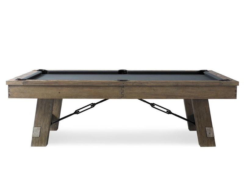 plank and hide isaac pool table side