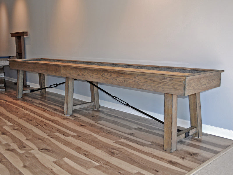 plank and hide isaac table - Shuffle Board