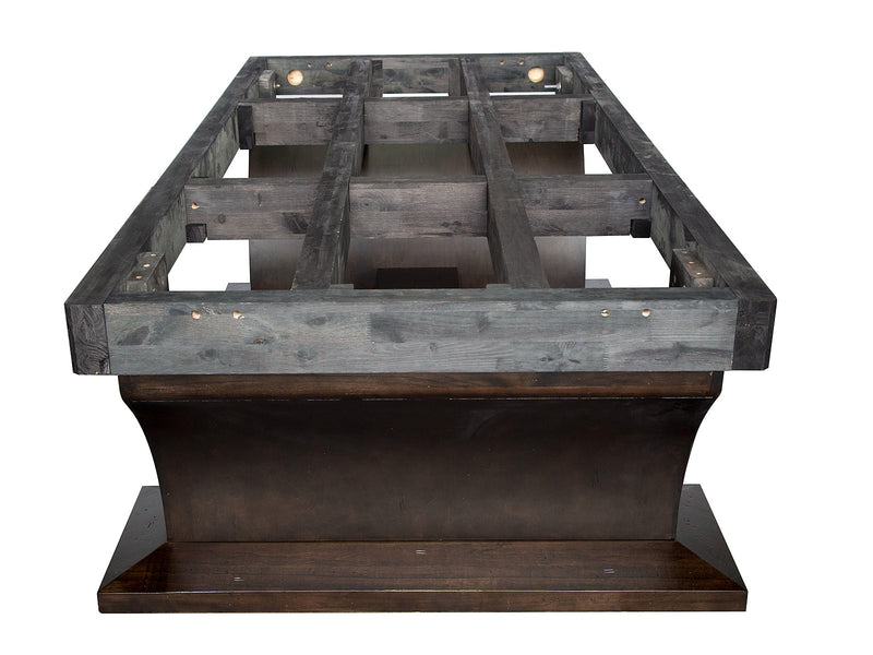 plank and hide paxton pool table base frame end stock