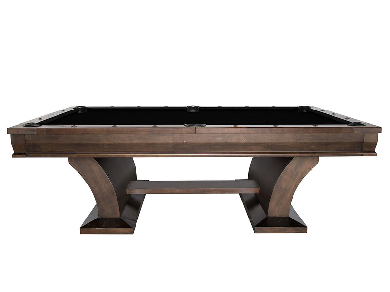 plank and hide paxton pool table side stone stock