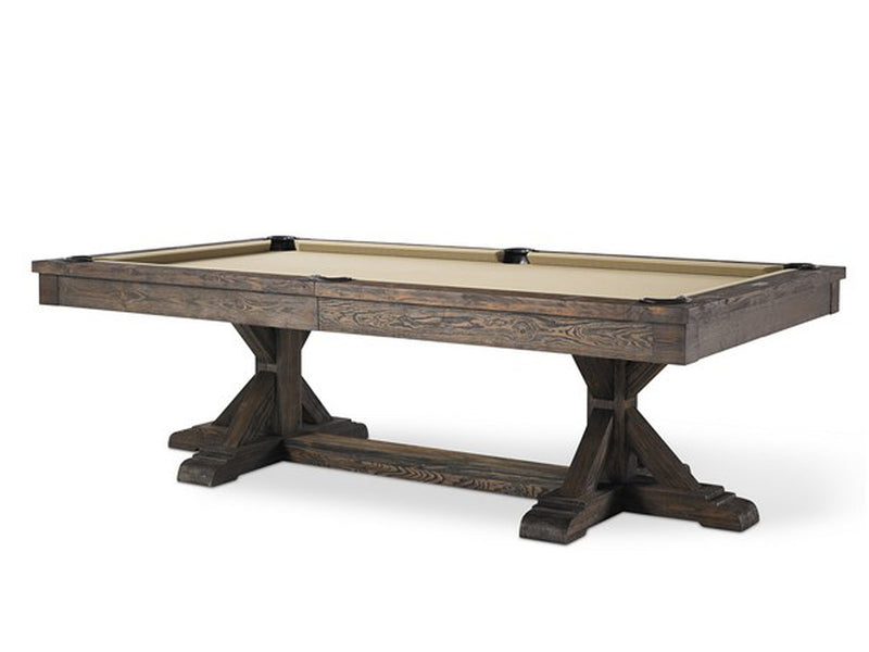 Plank and Hide Thomas Pool Table stock