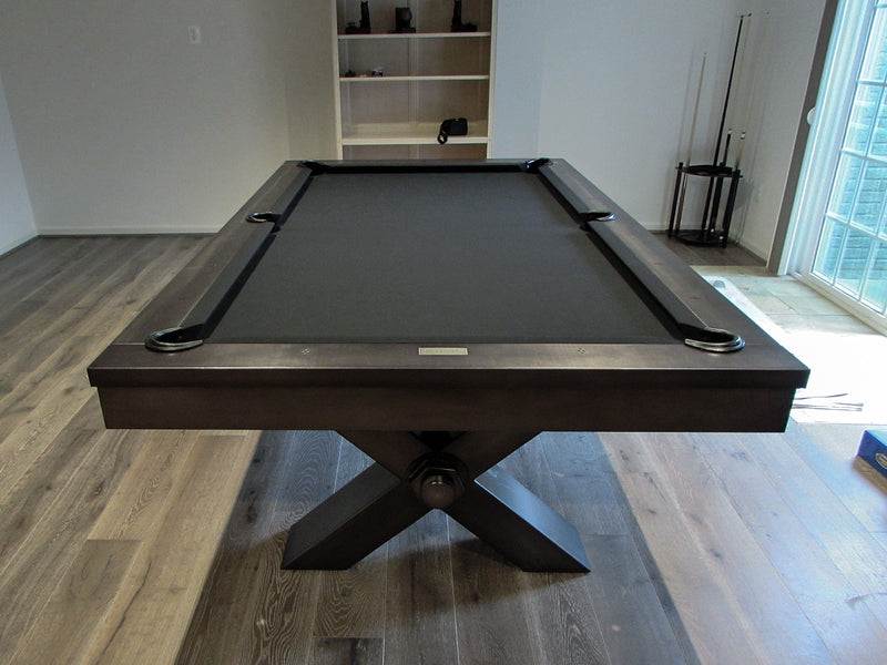 plank and hide vox pool table room setting
