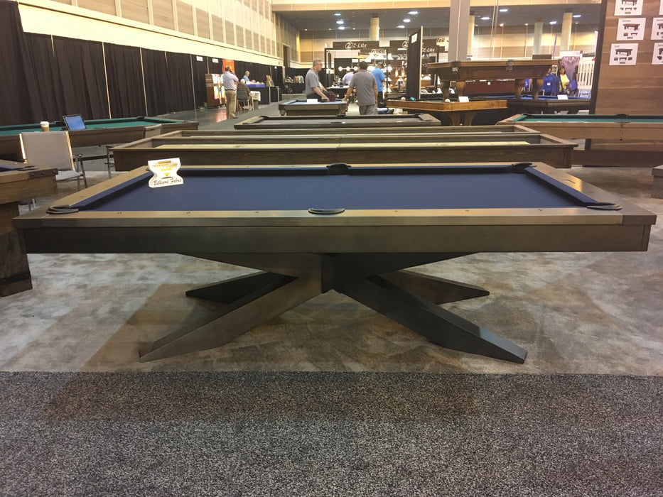 plank and hide felix pool table side