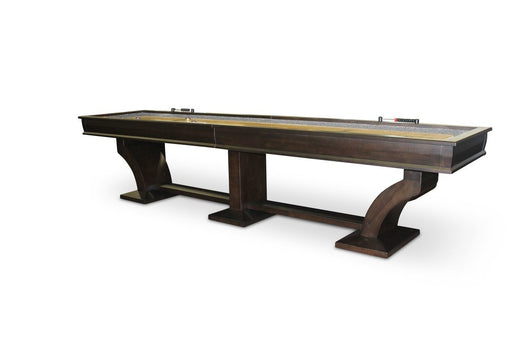 Plank and Hide Paxton Shuffleboard Table stock