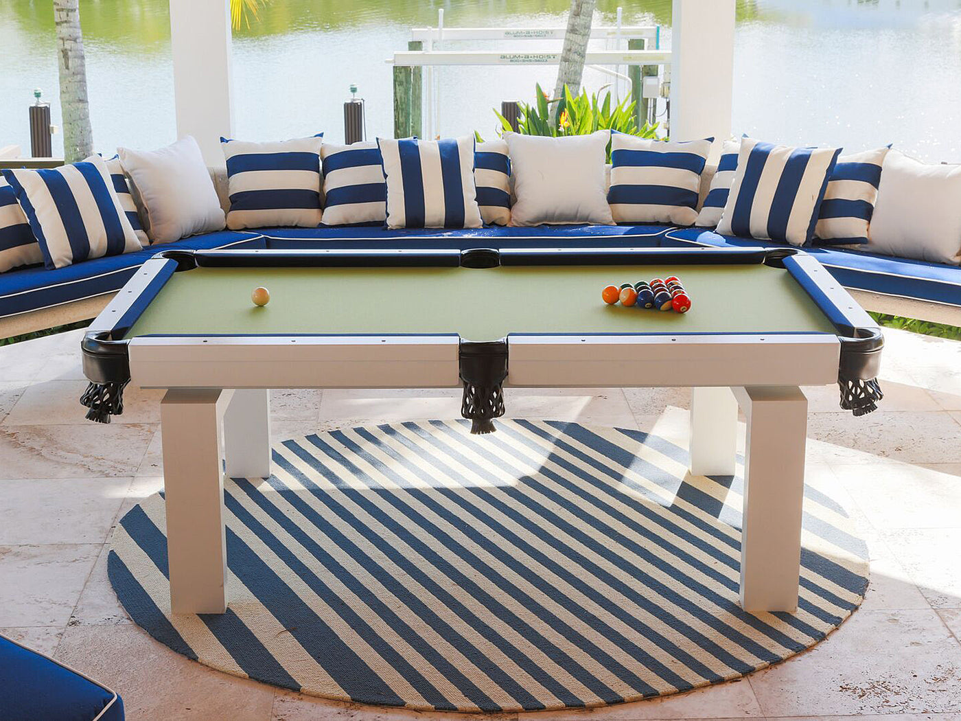 pool aluminum table outdoor billiard main in product ourdoor