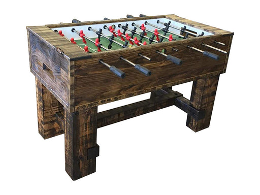 Robbies Custom Breckenridge Rustic Foosball Table stock