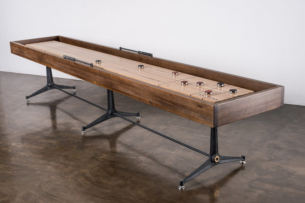 Contemporary Shuffleboard Table room
