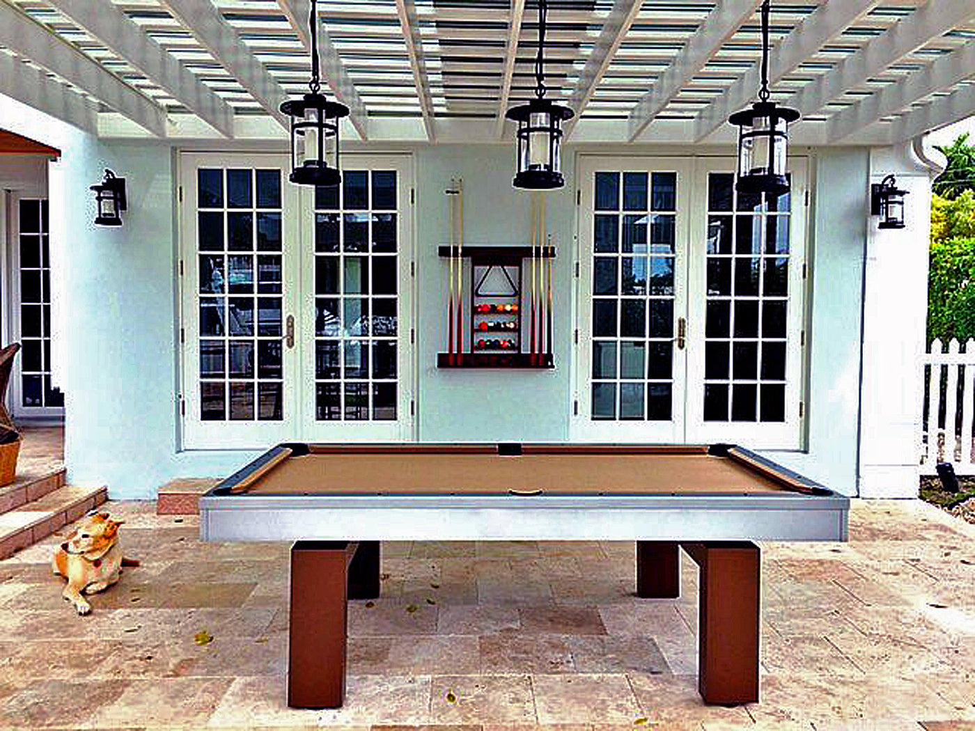 The South Beach Outdoor Pool Table Robbies Billiards