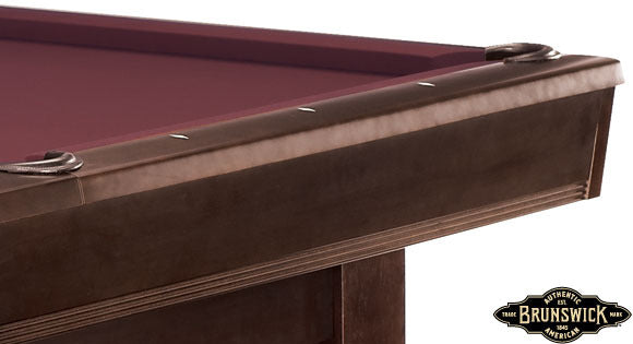 Brunswick Bridgeport pool table rail