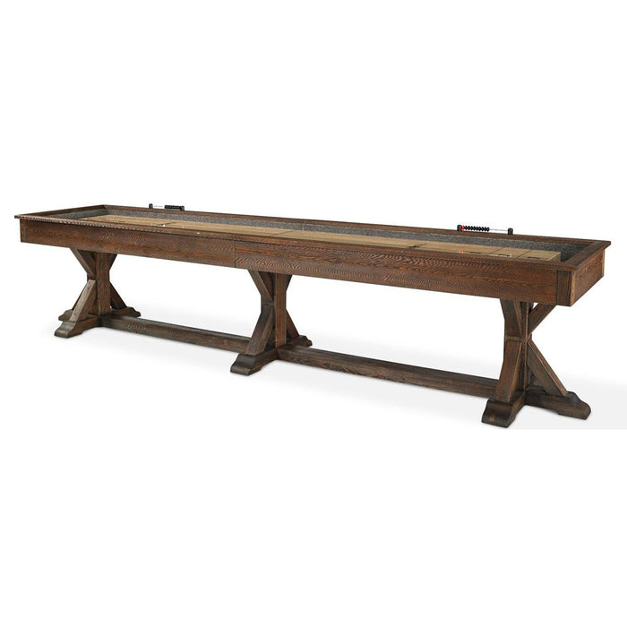 Plank and Hide Thomas Shuffleboard Table stock main