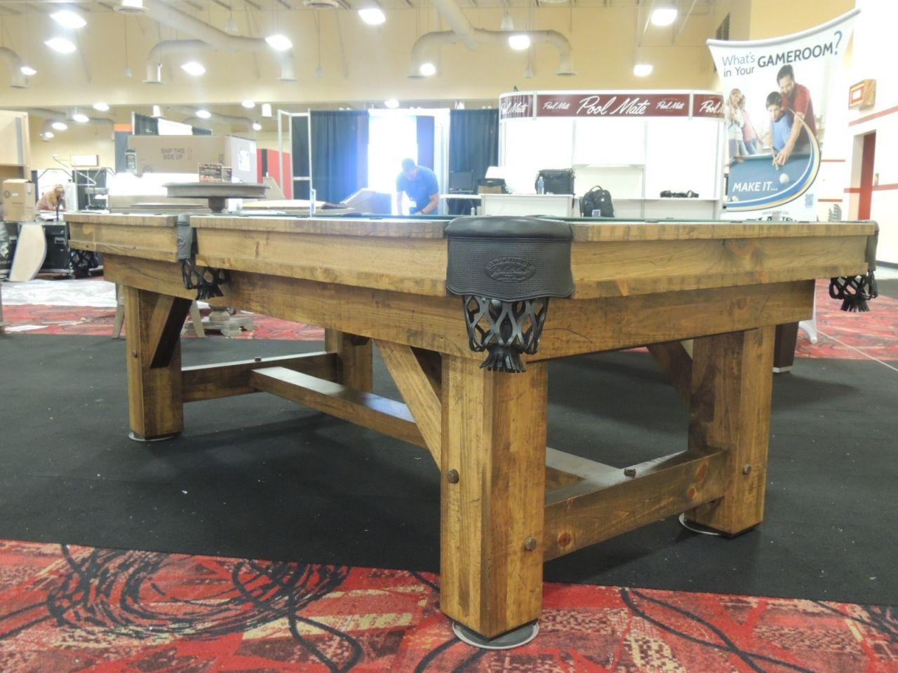 Sensational Olhausen Timber Ridge Pool Table Beutiful Home Inspiration Xortanetmahrainfo