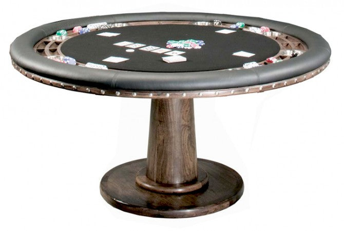 "california house glen ellen poker game table stock 60"" pro"