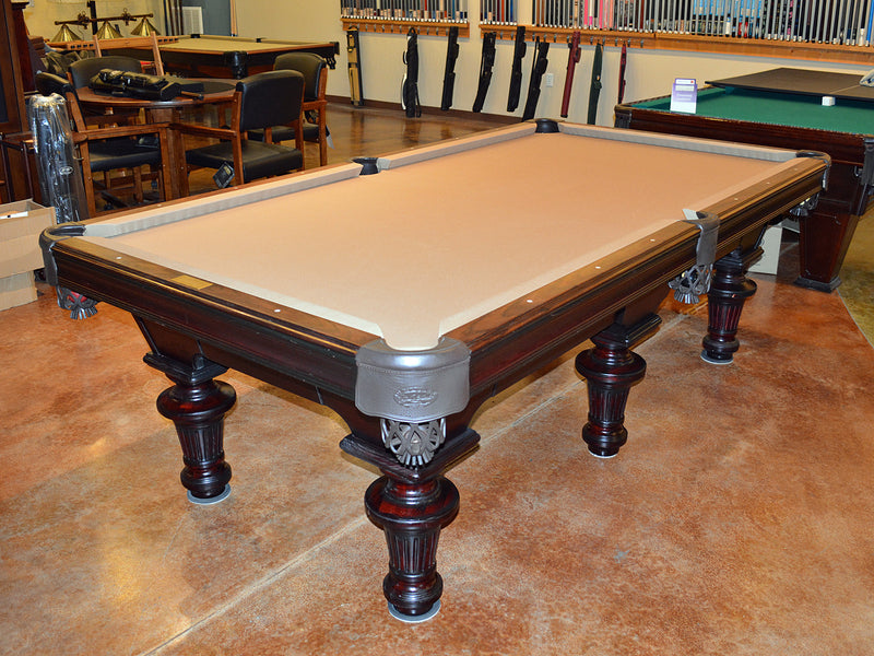 used olhausen innsbruck pool table floor model1