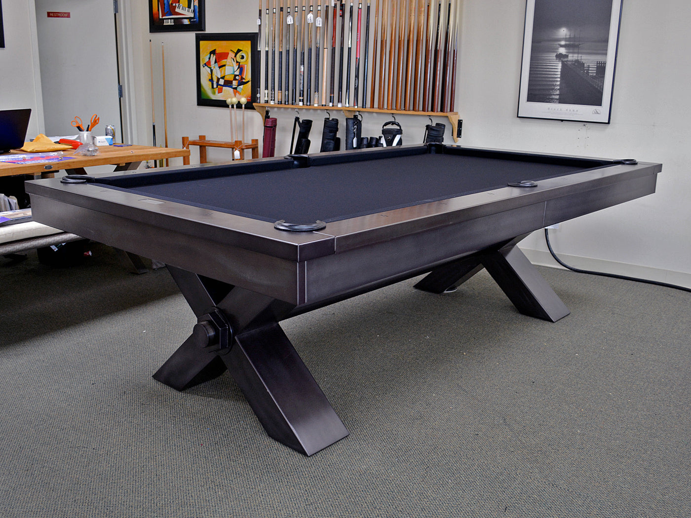 Superbe Plank And Hide Vox Pool Table