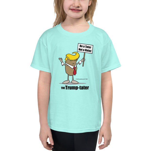 Trump Tater Youth Short Sleeve T-Shirt
