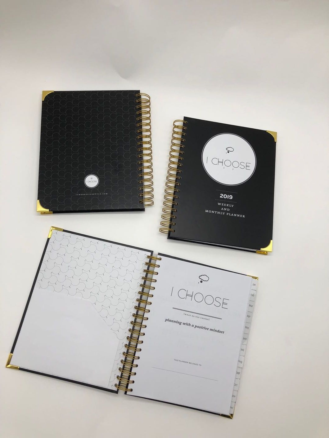 I Choose Lifestyle Deluxe 2019 Planner