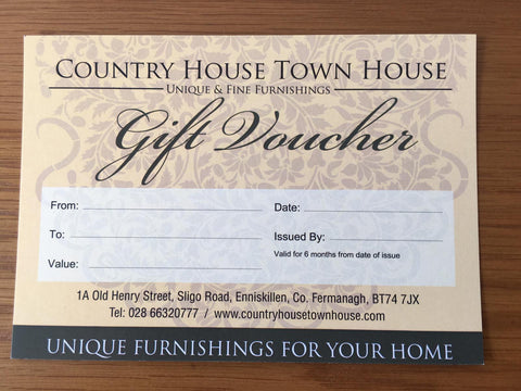 Gift Voucher   Value £25