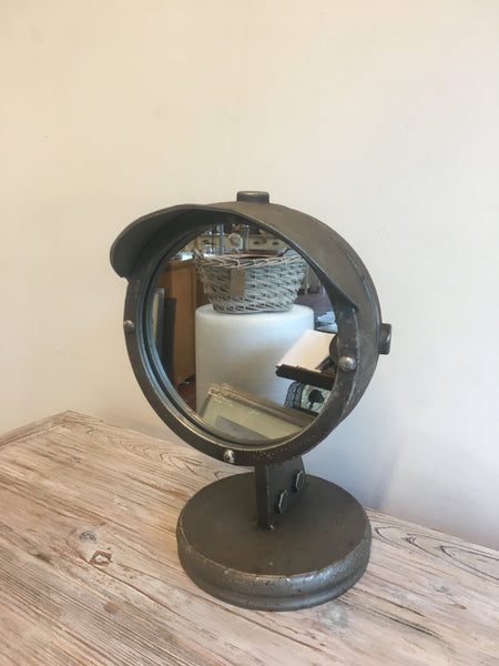 Retro headlight mirror