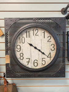 Industrial Style Clock