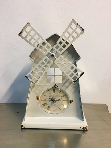 windmill clock
