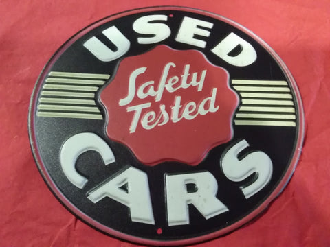 Used Cars, Safety Tested | Sign