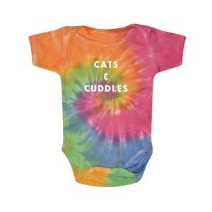 Cats & Cuddles Rainbow Onesie