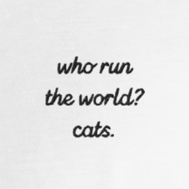 Cats Run the World Tee