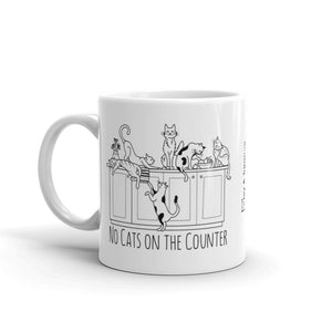 No Cats on the Counter Mug