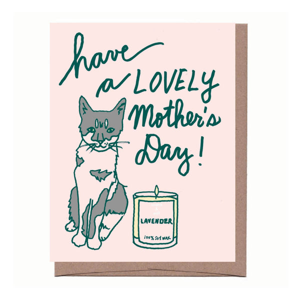Scratch & Sniff Mother's Day Card