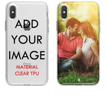 Load image into Gallery viewer, Customized Silicone Case Cover For iPhone XS MAX XR 6 6s 7 8 plus 5S