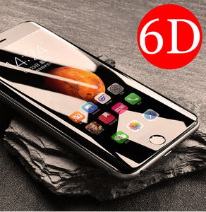 Full 6D Edge Tempered Glass