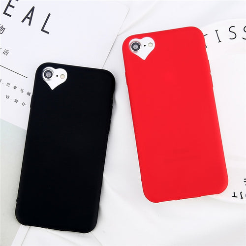 Heart Soft Silicone  Case