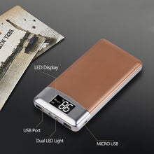 Load image into Gallery viewer, Portable Ultra-thin Polymer Power-bank