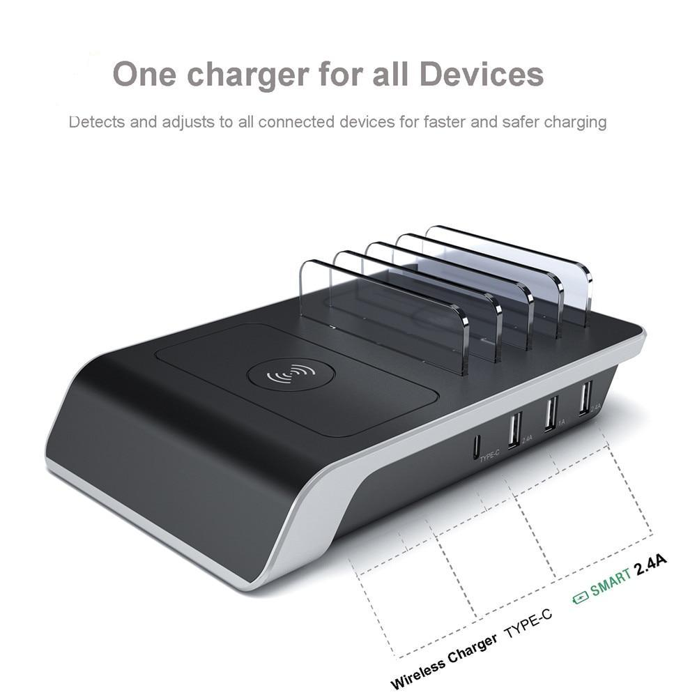 Multi USB Ports Charging Dock