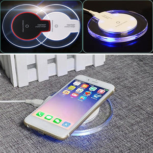 Crystal Ultra-Thin Wireless Charger