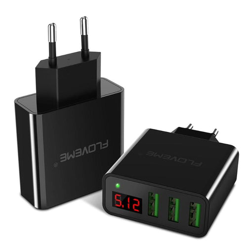 Digital 3 Ports USB Charger