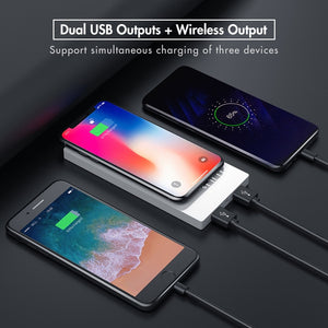 Elegant Fast Charging Wireless Power-bank