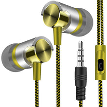 Load image into Gallery viewer, Metal Wired Earphone Super Bass