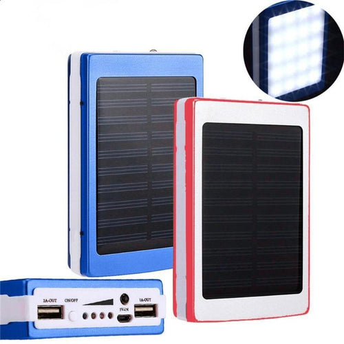 Power-bank Supports Solar Energy