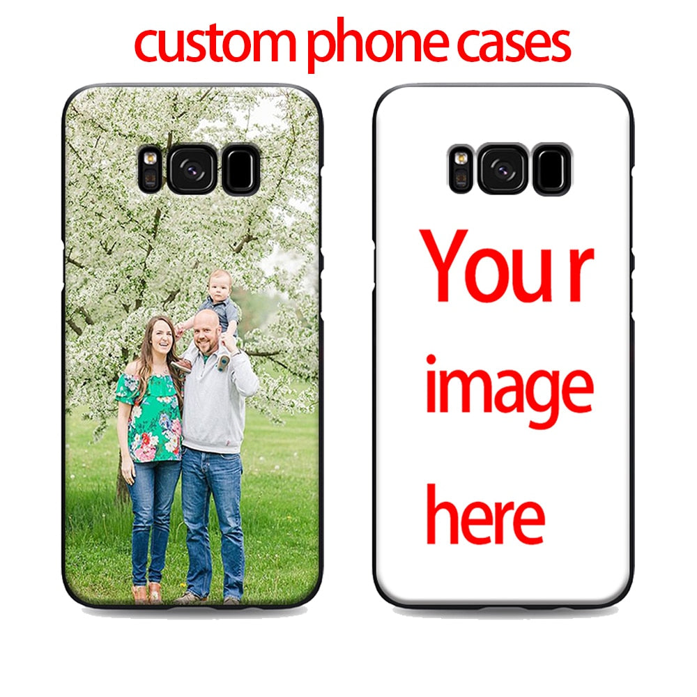 sale retailer 5af4f a3a87 Customized phone cases samsung galaxy s7 edge s6 s5 s8 s9 plus