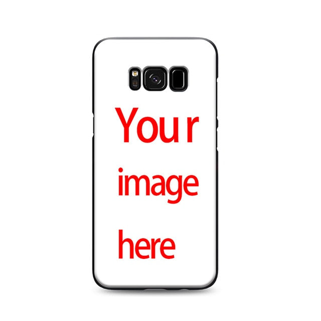 Customized phone cases samsung galaxy s7 edge s6 s5 s8 s9 plus