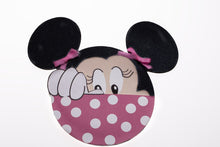 Load image into Gallery viewer, invitaciones para bautizo de minnie
