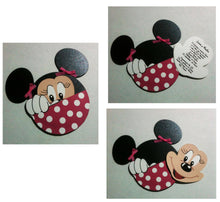 Load image into Gallery viewer, invitaciones para presentación de minnie