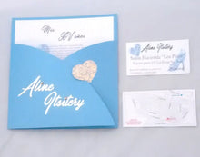 Load image into Gallery viewer, invitaciones hotstamping xv años