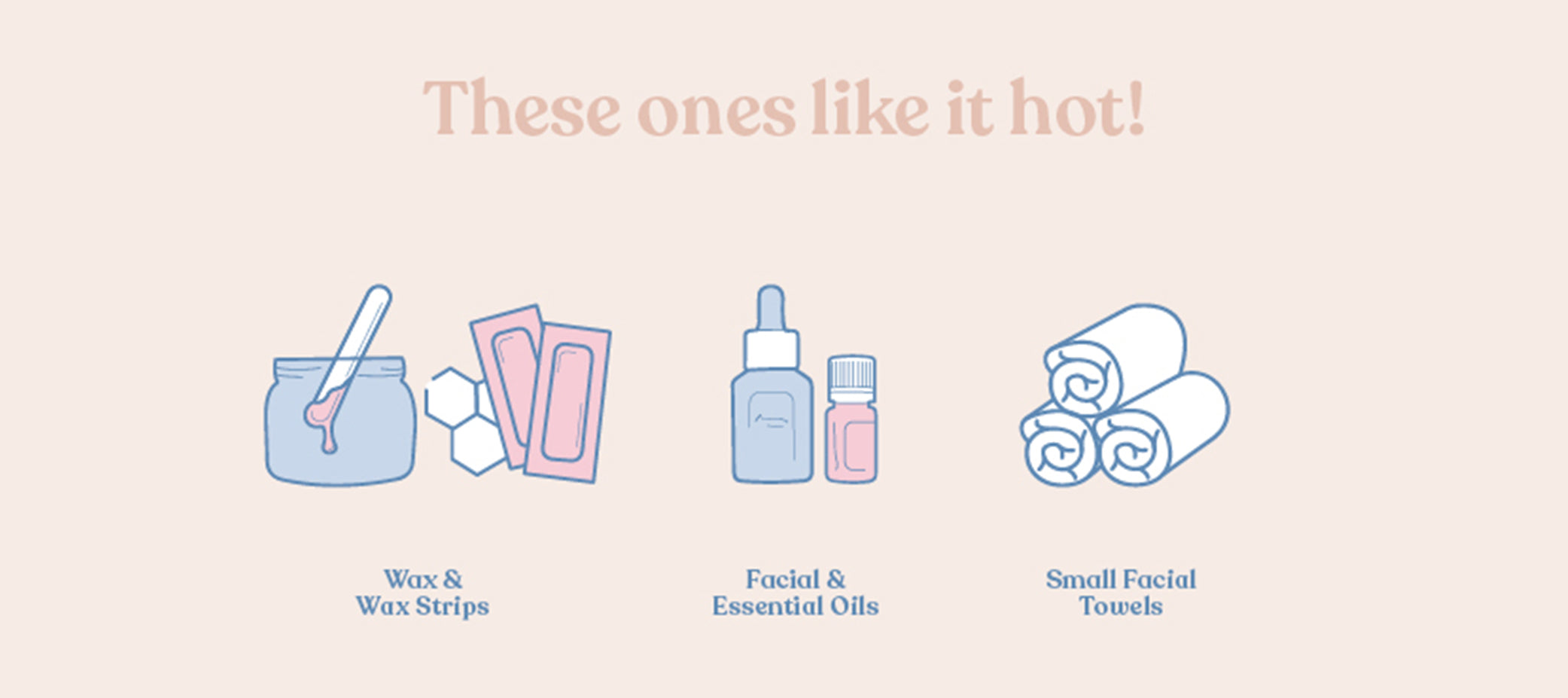 Items that can be stored on the hot setting of your Beauty Fridge