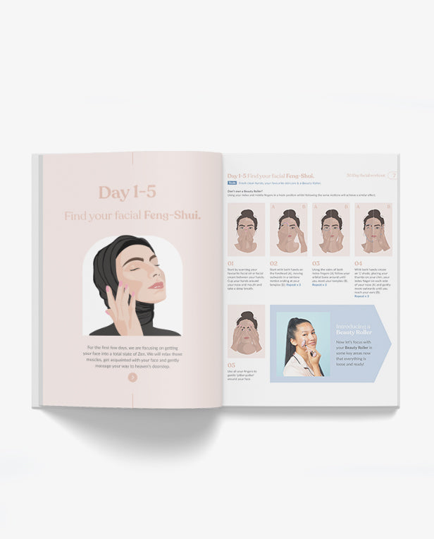 30 Day Facial Massage Workout E-Book