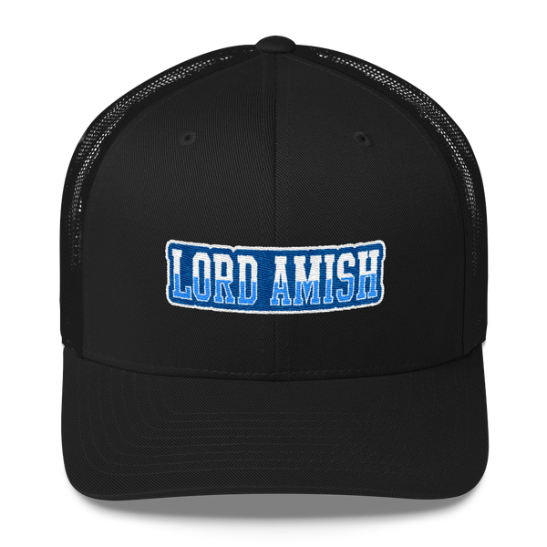 Curved Bill Trucker Cap Lord Amish