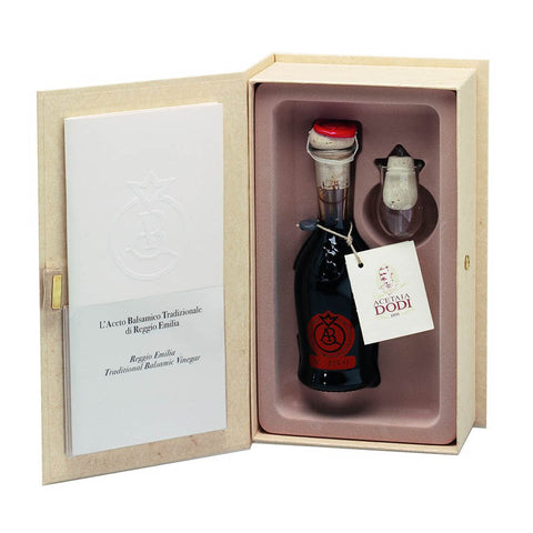 Image of Traditional Balsamic Vinegar from Reggio Emilia Aragosta Label 100ml Aged 12+ years - Urbani Truffles