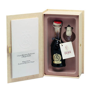 Traditional Balsamic Vinegar from Reggio Emilia Gold  Label 100ml Aged 25+ years - Urbani Truffles