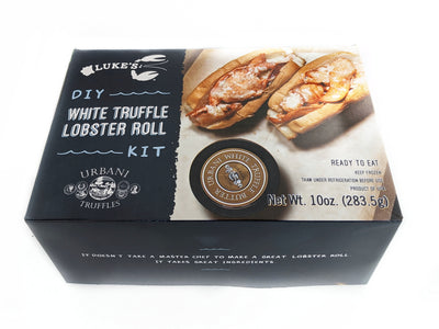 White Truffle Lobster Rolls Kit and 2 Truffle Chips - Urbani Truffles